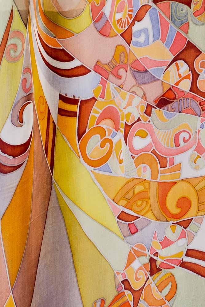 Стиль росписи батик